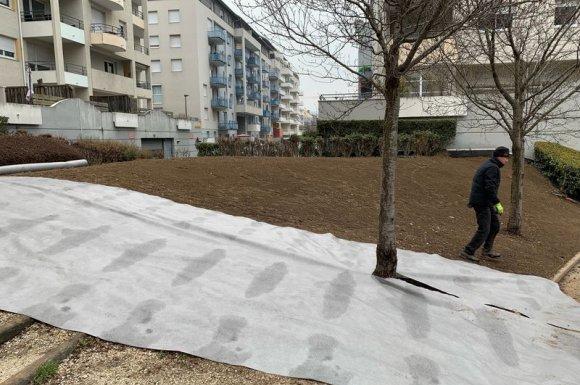 parc paysagé copropriété Chambéry