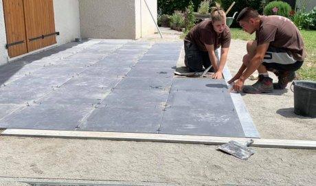 Entreprise spécialisée dans la création de terrasse Albertville