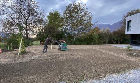 Paysagiste à Albertville pour aménagement de jardin