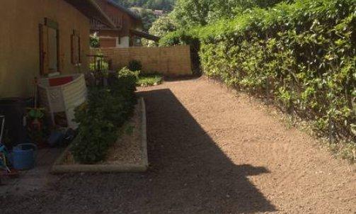 Aménagement de jardin à Albertville