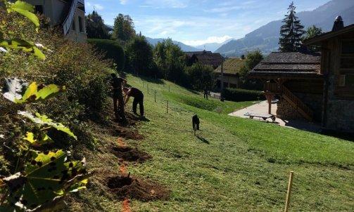 Megève implantation chantier Faverges